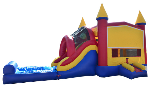 Combo Bounce with Waterslide
