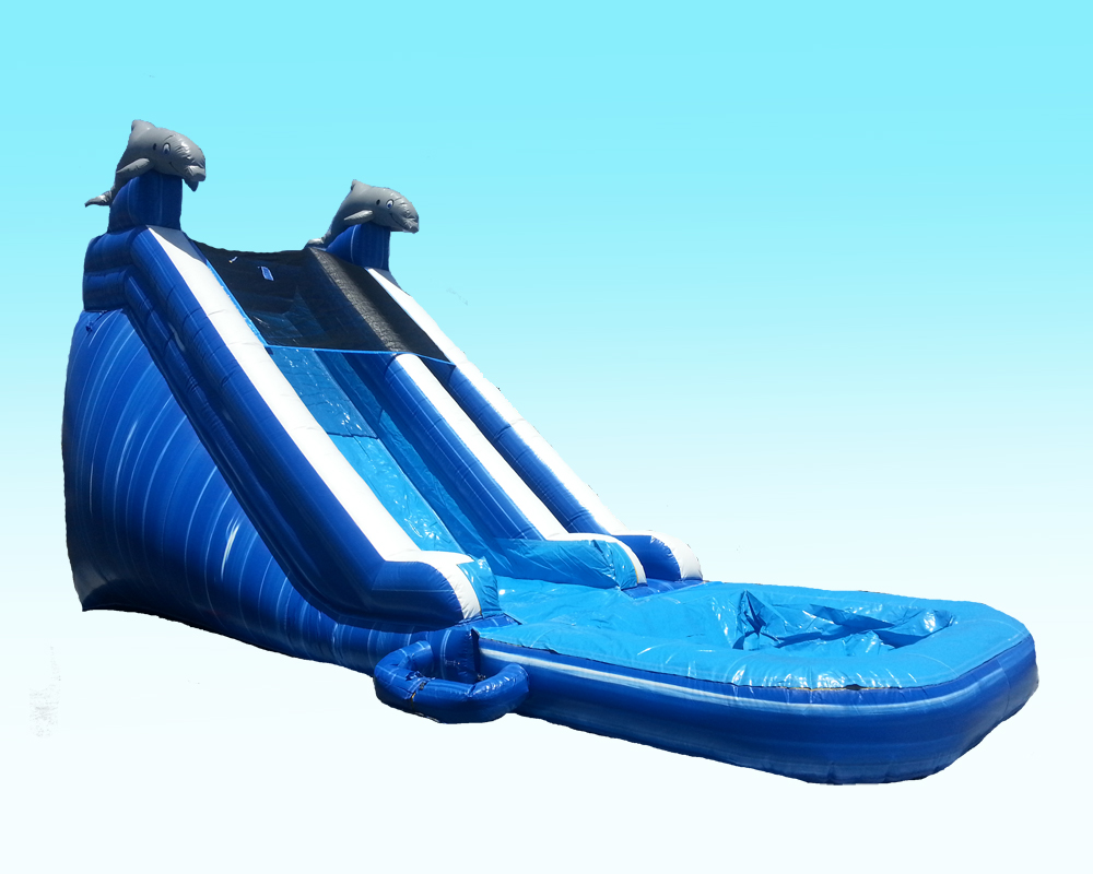18 FT. Dolphin Water Slide