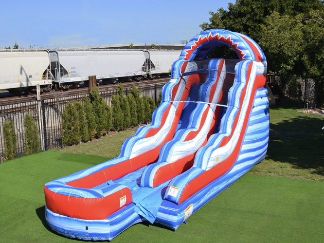 15' Flash Mega Slide