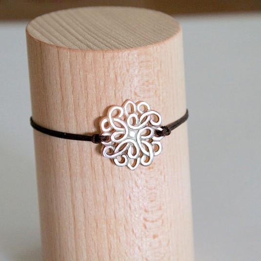 Bracelet brun mandala