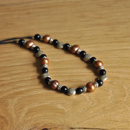 Collier perles & pierres