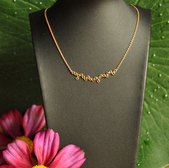Collier petits ronds