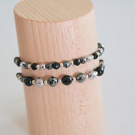 Bracelets noirs