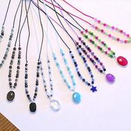 Divers collier colorés