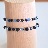 Bracelets bleu marine