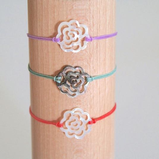 Bracelets roses