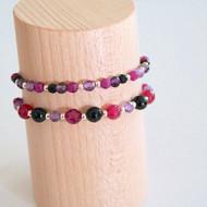 Bracelets violets
