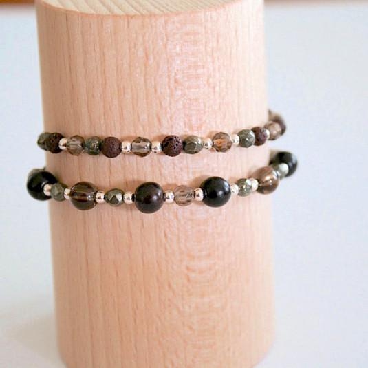 Bracelets bruns