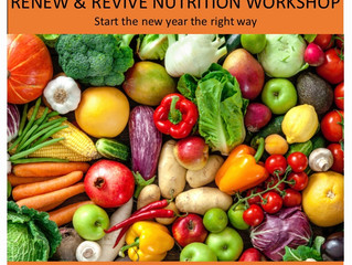 Renew & Revive: Nutrition Workshop