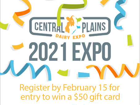 Central Plains Dairy Expo Coming in Person to Sioux Falls, SD March 24 & 25