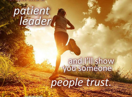 Become a More Patient Leader