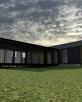 Modelo Casa Loica pra Chiloé