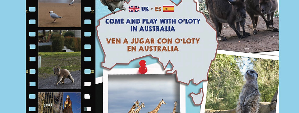 Come and play with O'Loty in Australia (book1)