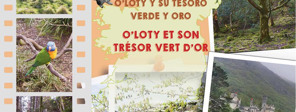 O'Loty et son trésor vert d'or - O'Loty y su tesoro verde y oro