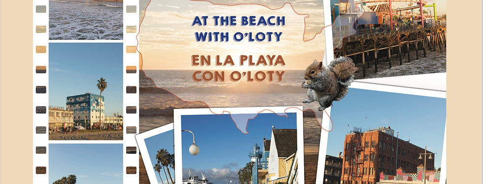 At the beach with O'Loty - En la playa con O'Loty