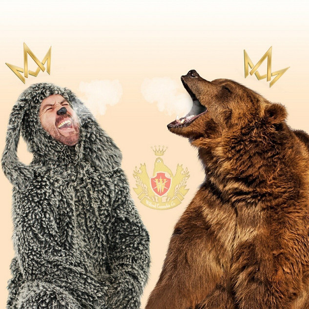 Wilfred Cannabis_with Bear Advertisement