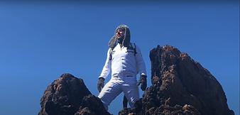 Wilfred Hemp smokes reaching the summit.