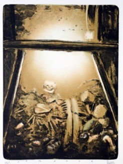 Ofrenda. Litografia. 56 x 45 cm. 2009.jp
