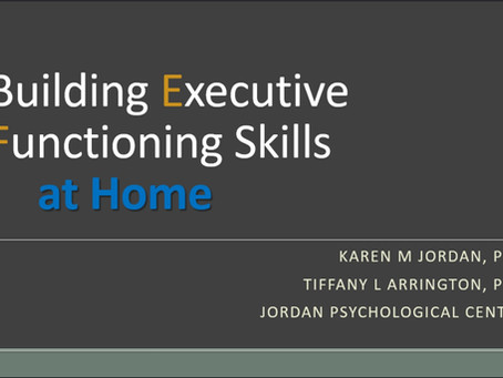 Building Executive Functioning Skills at Home