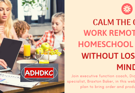 Calm the Chaos: Work Remotely & Homeschool Your Kids Without Losing Your Mind