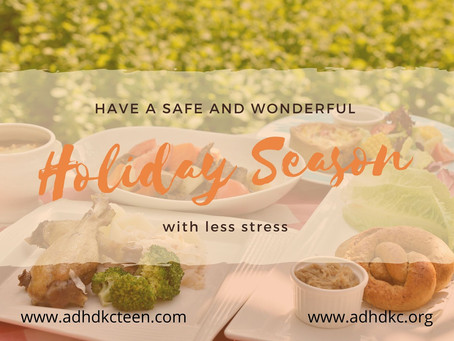 Have a safe and wonderful holiday season with less stress