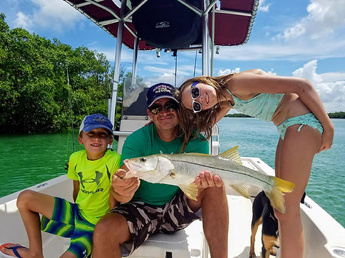 Snook fishing near Sanibel and Captiva