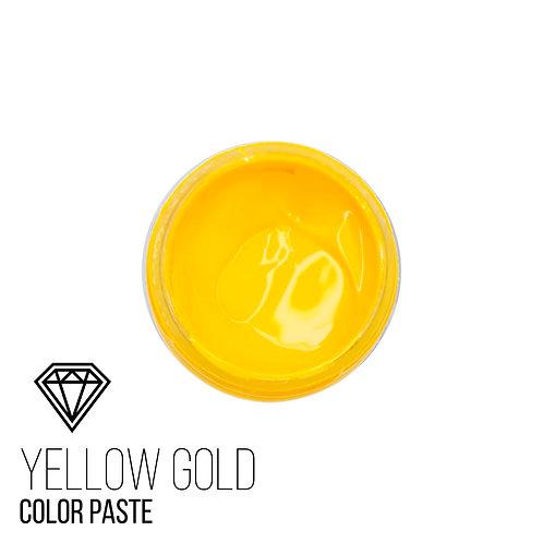 """Колеровочная Паста """"Yellow-Gold"""",  Желто-Золотистый, 25мл"""