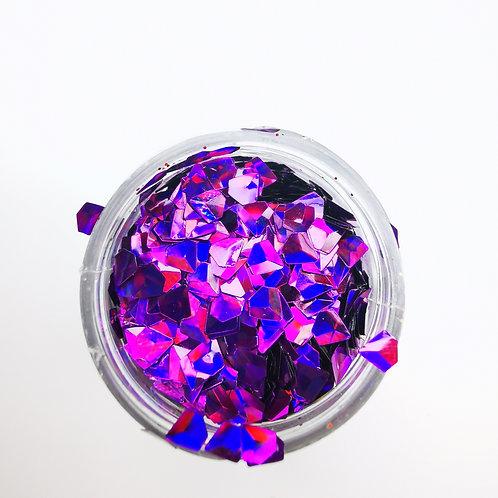 Глиттер серии 3D Jewel Glitter, Amethyst
