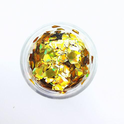Глиттер серии 3D Jewel Glitter, Gold
