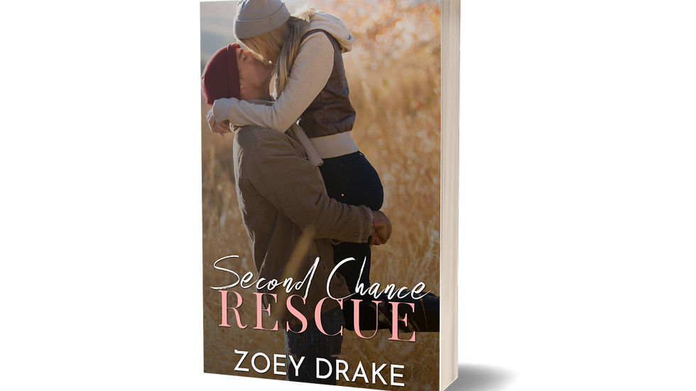 Signed Paperback - Second Chance Rescue Alternative Cover with Free Shipping