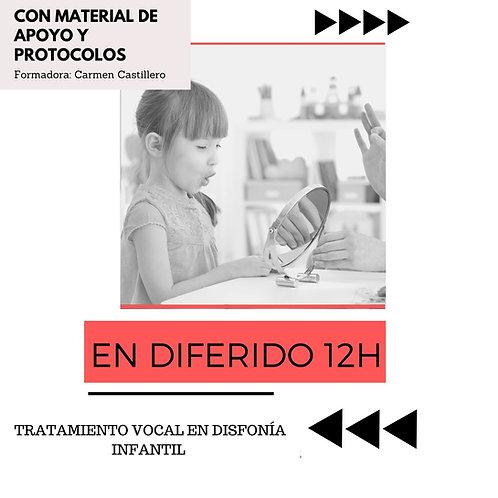 TRATAMIENTOVOCAL EN DISFONÍAS INFANTILES