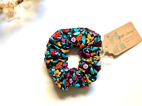 Little Larry's floral scrunchie
