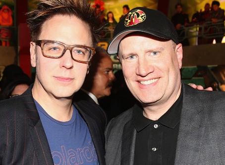 James Gunn afirma que Kevin Feige, da Marvel, visitou set da DC