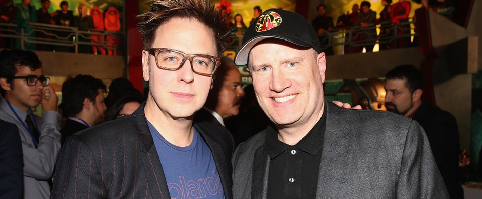 James Gunn afirma que Kevin Feige, da Marvel, visitou set da DC