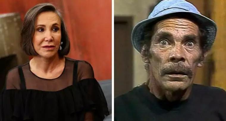 """Filha de ator de Seu Madruga acusa """"Dona Florinda"""" de espalhar mentiras sobre o pai"""