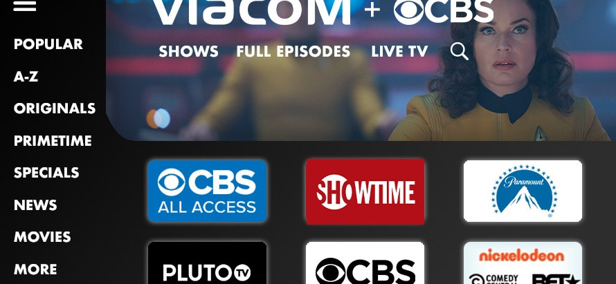 Streaming da ViacomCBS estreia em 2021 no Brasil