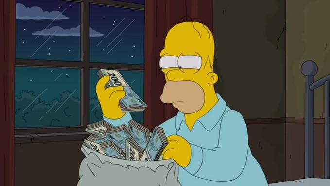 'Os Simpsons' previram a nota de 200 reais em episódio. Assista ao vídeo!