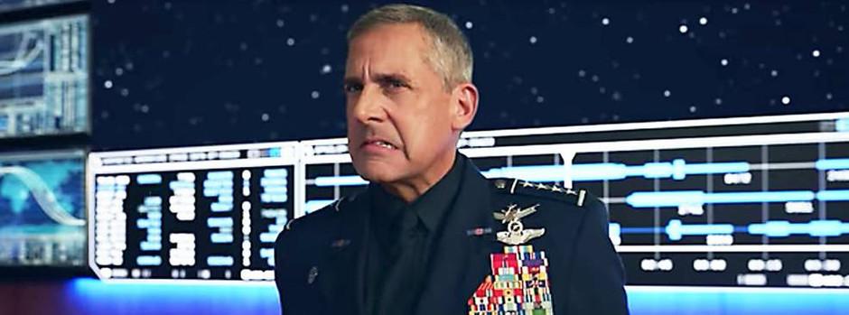 'Space Force' | Forças Armadas dos EUA podem perder marca para série da Netflix