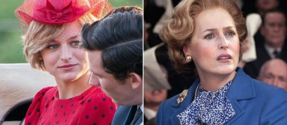 'The Crown' | Netflix divulga trailer completo da 4ª temporada com Thatcher e Diana