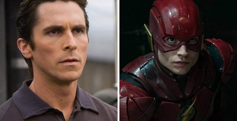 'The Flash' | Christian Bale pode participar de novo filme estrelado por Ezra Miller