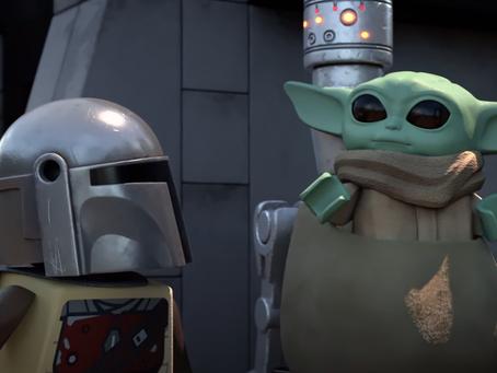 'LEGO Star Wars: Especial de Festas'   Disney+ mostra o encontro de Rey e do bebê Yoda