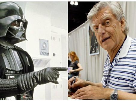 David Prouse, intérprete original de Darth Vader, morre aos 85 anos