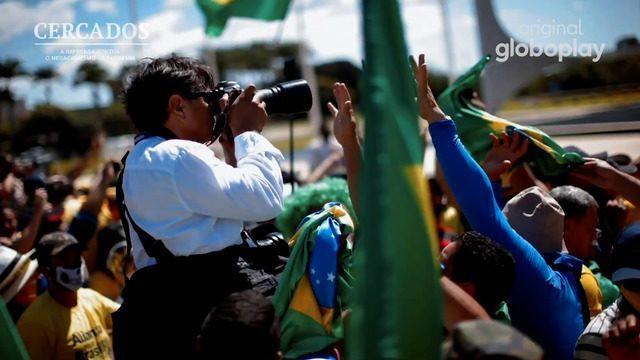 'Cercados' | Documentário da Globoplay mostra os desafios da imprensa em cobrir a pandemia