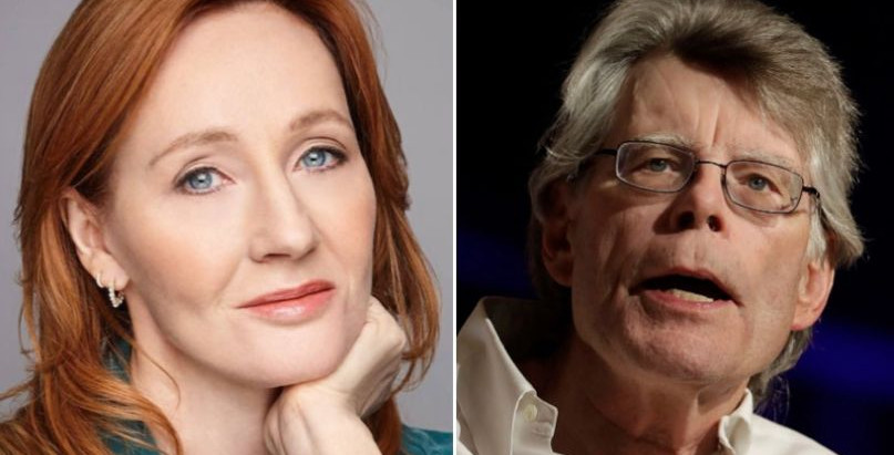 J.K. Rowling bloqueia Stephen King depois que ele afirmou que apoia mulheres trans