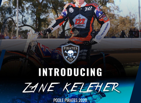POOLE PIRATES Lock in KELEHER for 2020