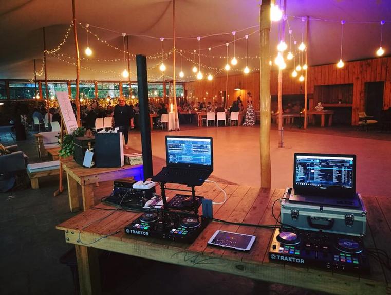 DJ services @ Beloftebos Wedding