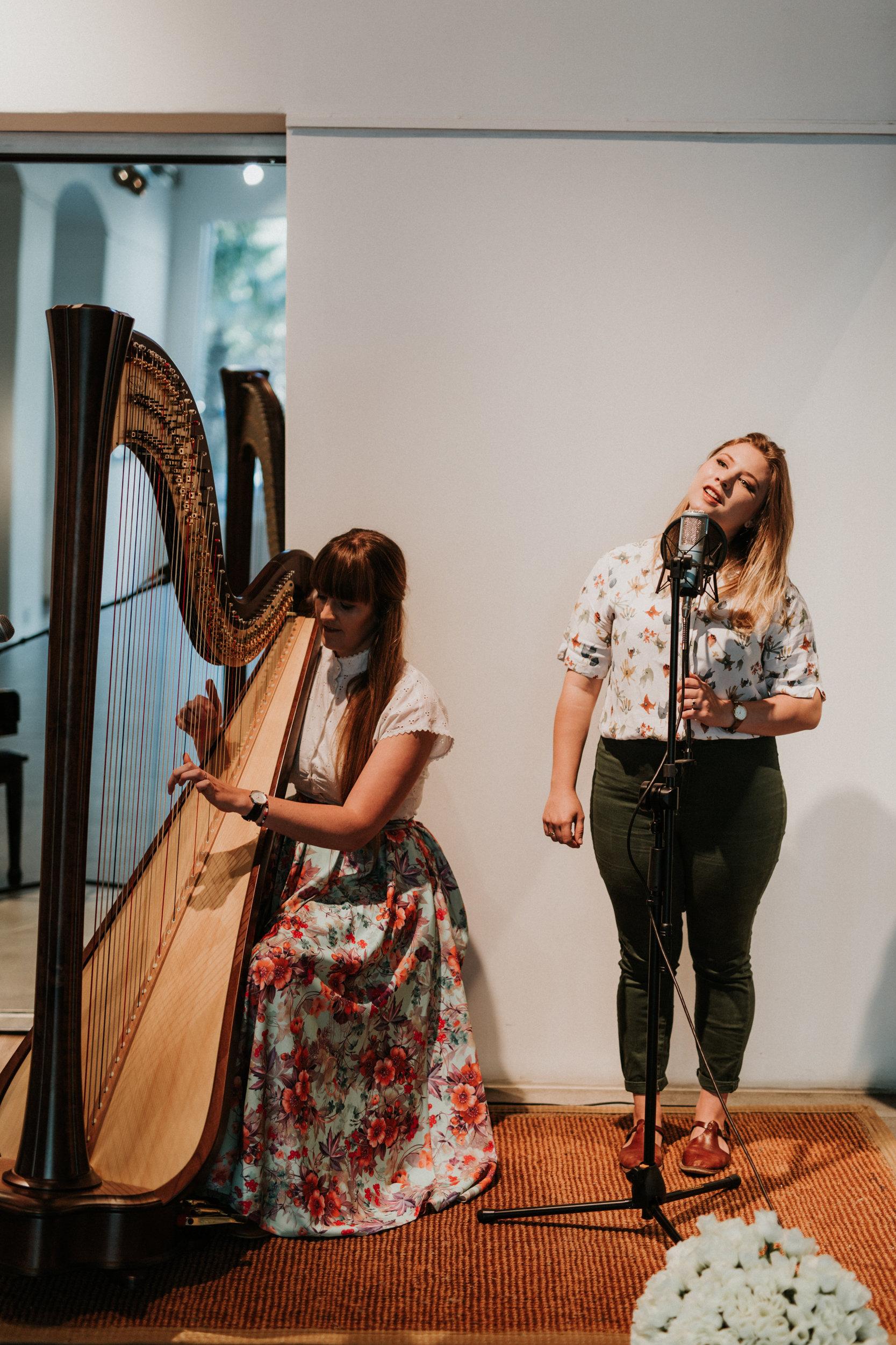 Mischa & HarpNOTED Duo