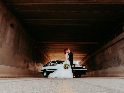 A Bride & a Groom & a AE86-Saskatoon