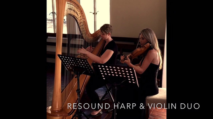 Harp & Violin Duo