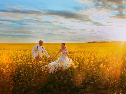 A Perfect Country wedding-Davidson, SK